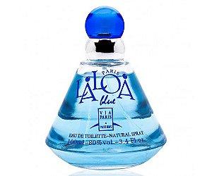 Tester Laloa Blue Eau De Toilette Via Paris 100ml - Perfume Feminino