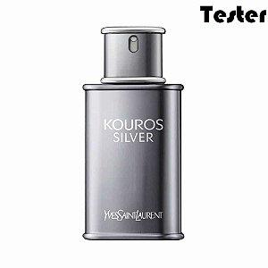 Tester Kouros Silver Eau de Toilette Yves Saint Laurent 100ml - Perfume Masculino