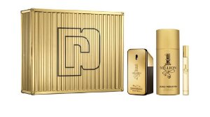 Kit 1 Million Paco Rabanne Eau de Toilette 100ml + Miniatura 10ml + Desodorante 150ml - Masculino