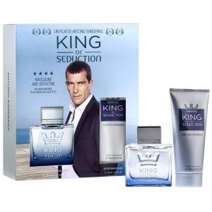 Kit King of Seduction EDT Antonio Banderas 100ml + Desodorante Body Spray 150ml - Masculino