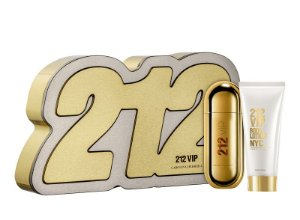 Kit 212 VIP Carolina Herrera Eau de Parfum Feminino 80ml + Loção Corporal 100ml - Feminino