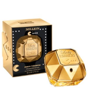 Lady Million Pacman Collector Edition Eau de Parfum Paco Rabanne 80ml - Perfume Feminino