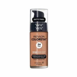 Base Revlon ColorStay Pele Mista e Oleosa Cor 310 Warm Golden 30ml - Base Líquida FPS 15