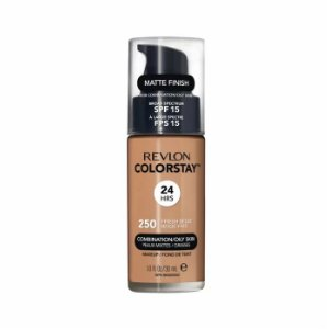 Base Revlon ColorStay Pele Mista e Oleosa Cor 250 Fresh Beige 30ml - Base Líquida FPS 15