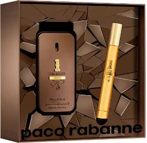 Kit 1 Million Privé  Paco Rabanne Eau de Parfum 50ml + Miniatura 10ml - Masculino