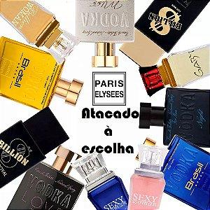 Perfumes Paris Elysees Variados Atacado 05 Unidades