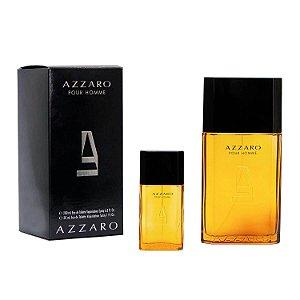 Kit Azzaro Conjunto Masculino Pour Homme Eau de Toilette 200ml + Eau de Toilette 30ml