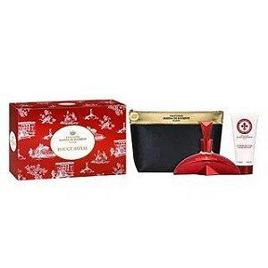 Kit Rouge Royal Marina de Bourbon Eau de Parfum 100ml + Loção Corporal 100ml + Nécessaire - Feminino