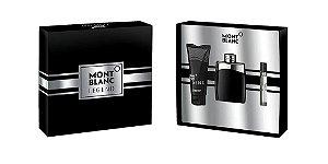 Kit Montblanc Legend Eau de Toilette - 100ml + Loção Pós-Barba 100ml + Miniatura 7,5ml - Masculino