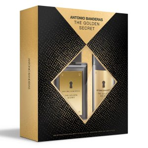 Kit The Golden Secret Antonio Banderas Eau de Toilette 100ml + Desodorante 150ml - Masculino