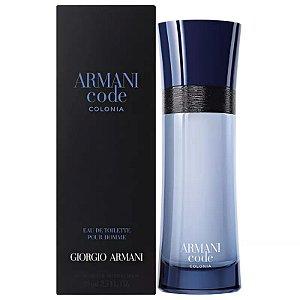 Armani Code Colonia Eau de Toilette Giorgio Armani 75ml - Perfume Masculino