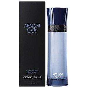 Armani Code Colonia Eau de Toilette Giorgio Armani 125ml - Perfume Masculino