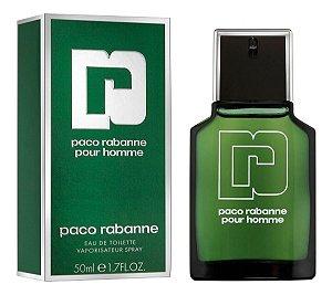 Paco Rabanne Pour Homme Eau de Toilette 50ml - Perfume Masculino