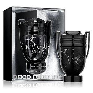 Invictus Onyx Collector Edition Paco Rabanne Eau de Toilette 100ml - Perfume Masculino