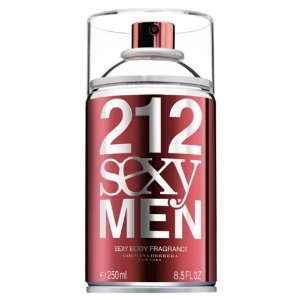 Body Spray 212 Sexy Men Carolina Herrera 250ml - Masculino