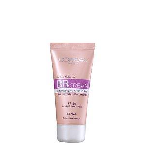 BB Cream L'oréal Creme Milagroso 5 em 1 FPS20 Cor Clara 30ml