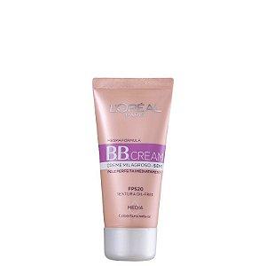 BB Cream L'oréal Creme Milagroso 5 em 1 FPS20 Cor Média 30ml