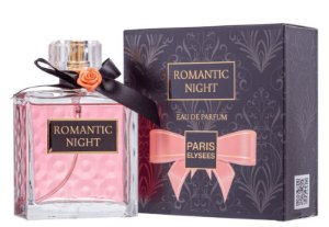 Romantic Night Eau de Parfum Paris Elysees 100ml - Perfume Feminino