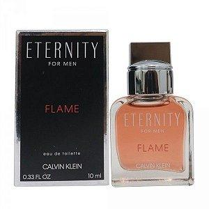 Miniatura Eternity Flame Calvin Klein Eau de Parfum 10ml - Perfume Masculino