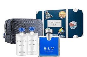 Kit BLV Pour Homme Eau de Toilette 100ml + 02 Pós Barba 75ml + Nécessaire - Masculino