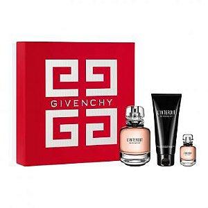 Kit Givenchy L'Interdit Eau de Parfum 80ml + Body Lotion 75ml + Miniatura 10ml