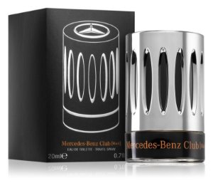 Mercedes-Benz Club Black Eau de Toilette 20ml - Perfume Masculino