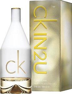 CK IN2U Her Calvin Klein Eau de Toilette 150ml - Perfume Feminino