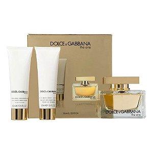 Kit The One Dolce & Gabbana Eau de Parfum 75ml + Body Lotion 50ml + Shower Gel 50ml - Feminino