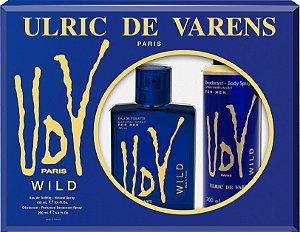 Kit UDV Wild Ulric de Varens Eau de Toilette 100ml + Desodorante 200ml - Masculino