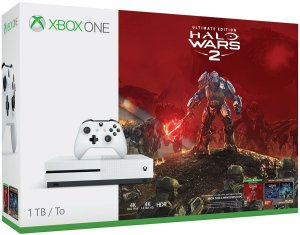 Console Xbox One S 1tb - Pacote Halo Wars 2