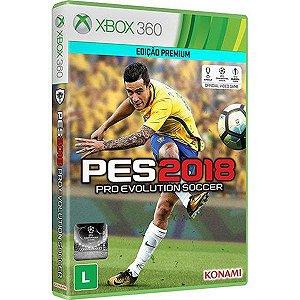 Pro Evolution Soccer 18  - Xbox 360