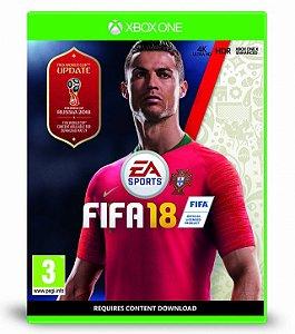 Fifa 18 (INCLUI ATUALIZAÇÃO WORLD CUP 2018)  - Xbox One
