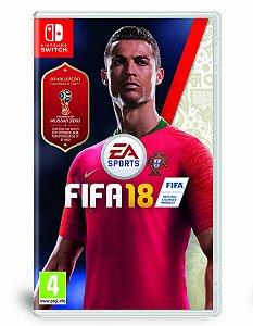 Jogo Fifa 18 (INCLUI ATUALIZAÇÃO WORLD CUP 2018) - Switch