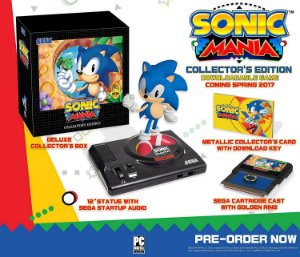 Sonic Mania: Collector's Edition -  Switch