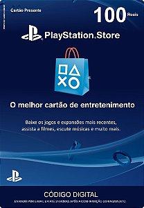 Cartão PSN Brasil R$100