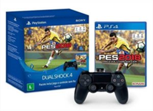 Controle Dualshock 4 - PS4 (+ GAME PES 18)