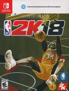 NBA 2K18 - Legend Edition GOLD - Switch