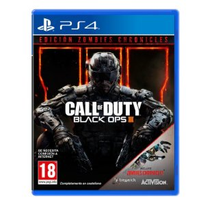 Jogo Call of Duty: Black Ops III (Edição Zombies Chronicles) - Ps4