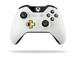 Controle Microsoft (Edição Lunar White) sem fio - Xbox One