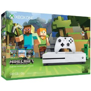 Console Xbox One S 500GB Bundle Minecraft