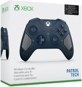 Controle Xbox One S Edição Especial Recon Tech Bluetooth - Microsoft