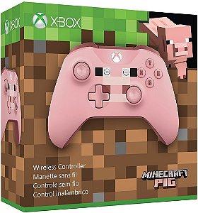 Controle Xbox One S Edição Especial Pig Bluetooth - Microsoft