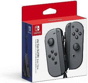 Controle Nintendo Joy-Con (Esquerdo e Direito) Cinza - Switch