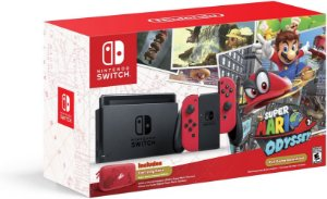 Console Nintendo Switch - Super Mario Odyssey Edition