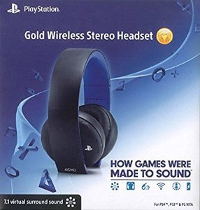 Headset sony 7.1 Gold Ps4