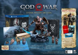 God of War Stone Mason's Edition - Ps4