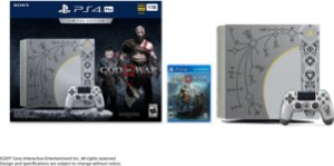 PlayStation 4 Pro 1TB God of War Limited Edition Console + 1 Jogo