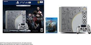 PlayStation 4 Pro 1TB God of War Limited Edition Console + 1 Jogo