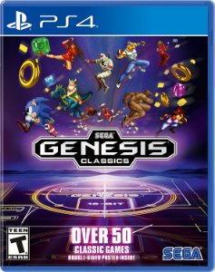 Jogo Sega Genesis Classics Collection - PS4