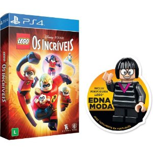 Game Lego Os Incríveis Ed. Especial - PS4